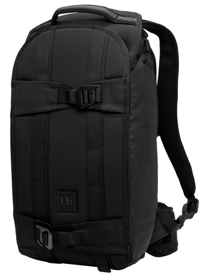 Douchebags The Explorer Ski/Snowboard Backpack, 20L Black Out