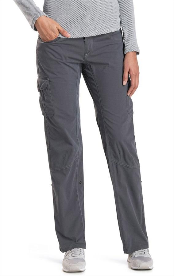 Kuhl Womens Splash Roll-Up Pant Women's Hiking Trousers, Uk 14 Shadow