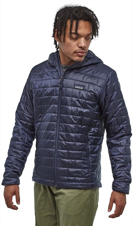 Patagonia Nano Puff Hoody Insulated Jacket, S Classic Navy