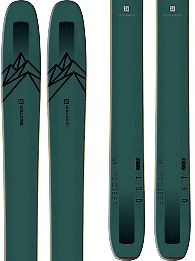 Salomon Adult Unisex Qst 118 Skis 192cm, Dark Grey, Ski Only, 2020