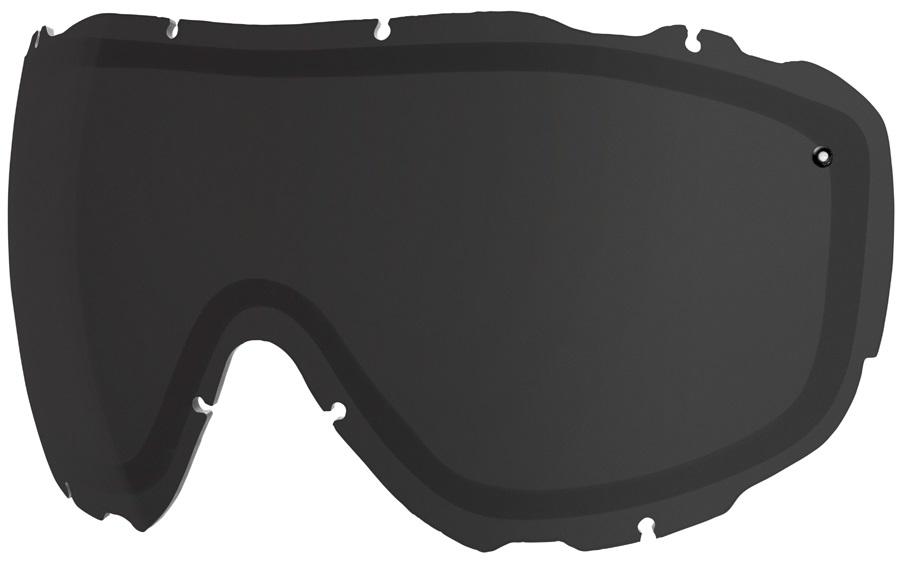 Smith Prophecy Turbo Fan Snow/Ski Goggle Spare Lens, Blackout