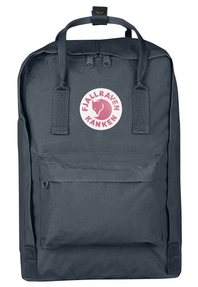 """Fjallraven Kanken Laptop 15"""" Day Pack/Backpack, 18L Graphite"""