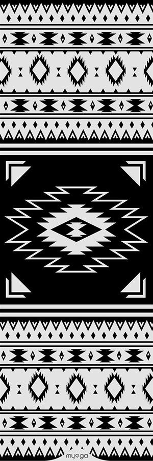 Myga Statement Yoga Mat, 3mm Aztec