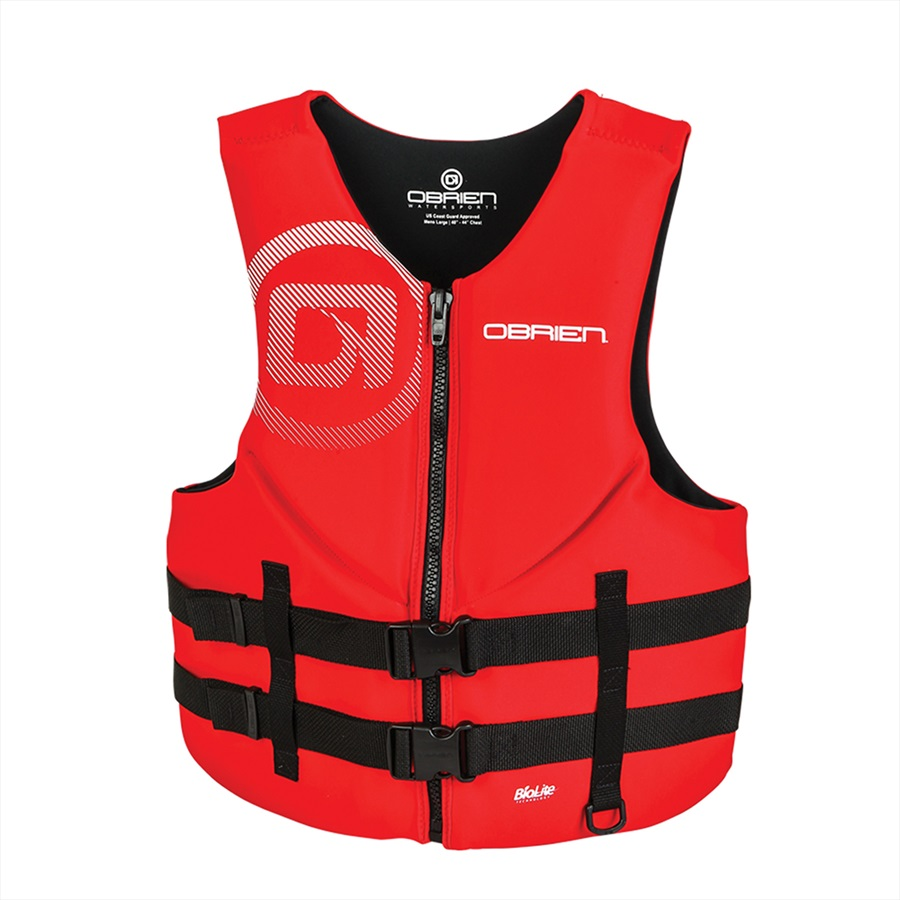 O'Brien Traditional Watersports Impact Buoyancy Aid, S Red Black 2021
