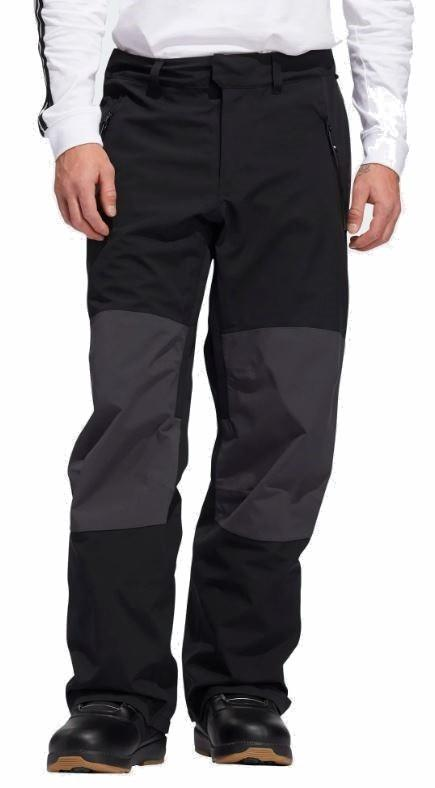 Adidas Adult Unisex 20k Fixed Ski/Snowboard Pants, L Black