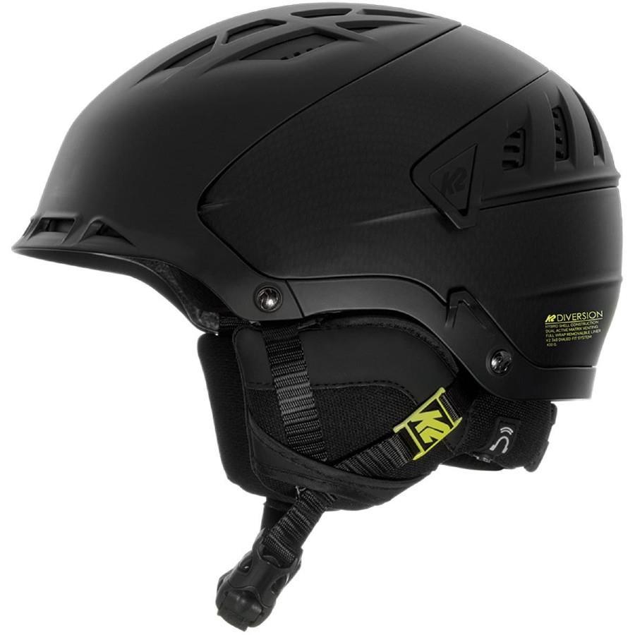 K2 Diversion Snow/Bike Helmet, S Black