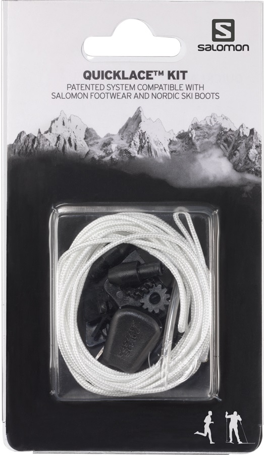Salomon Quicklace Snowboard Boot Replacement Lace Kit One Size Natural