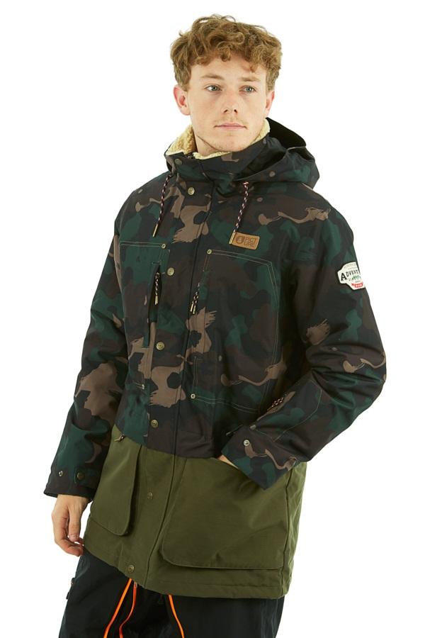 Picture Dann Ski/Snowboard Jacket, M Camo