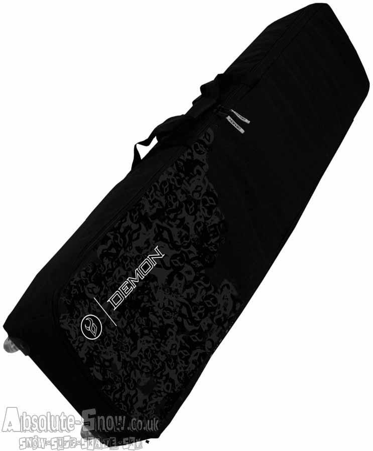 Demon Phantom Travel Wheelie Snowboard Bag, 166cm, Black