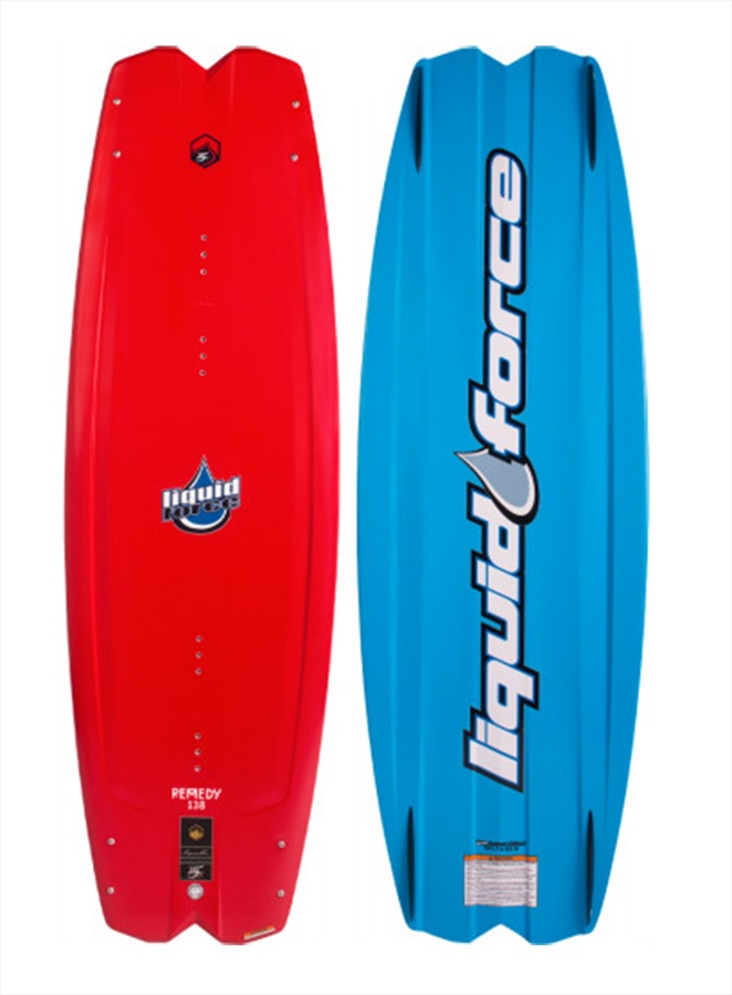 Liquid Force Remedy Ltd. Heritage Boat Wakeboard, 138 Red Blue 2021