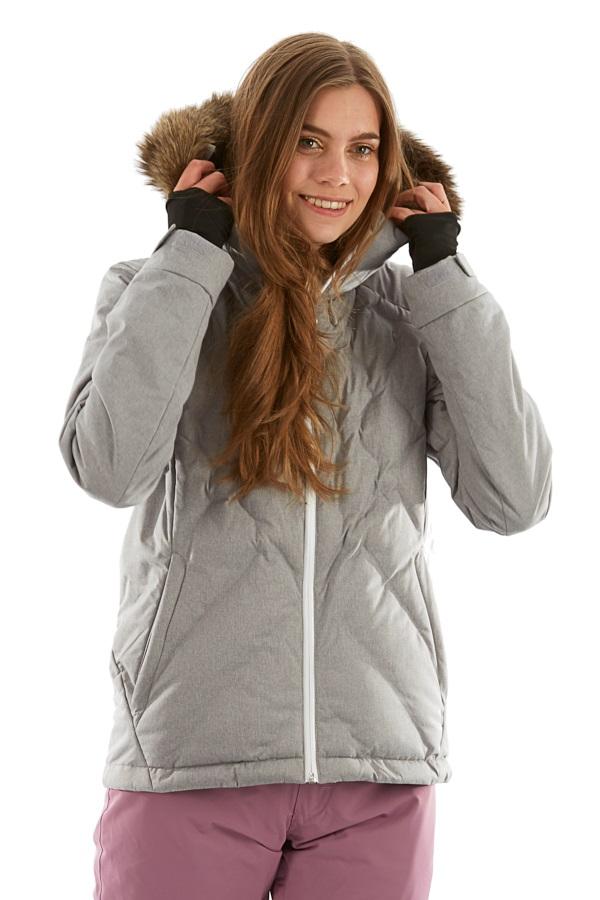 Roxy Breeze Women's Snowboard/Ski Jacket, S Heather Grey