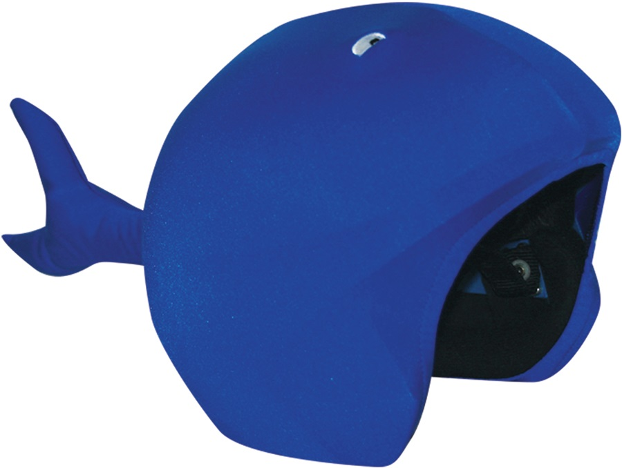 Coolcasc Animals Ski/Snowboard Helmet Cover, One Size, Whale