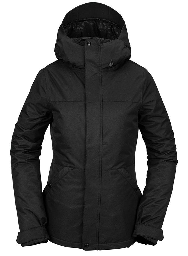 Volcom Bolt Insulated Women's Ski/Snowboard Jacket, Uk 12 Black