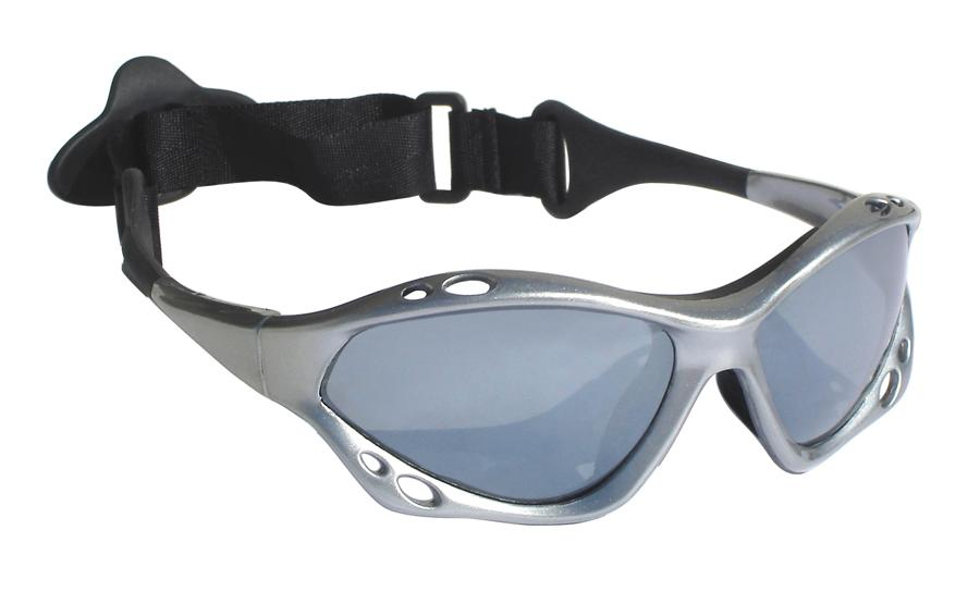 Jobe Knox Floatable Watersports Sun Glasses, Silver Polarized 2021