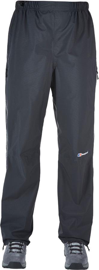 Berghaus Light Hike Short Women's Waterproof Overtrousers, UK 8 Black