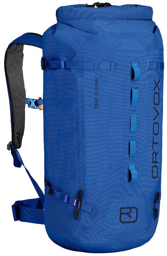 Ortovox Trad 30 Dry Weatherproof Backpack/Rucksack, 30L Blue Lake