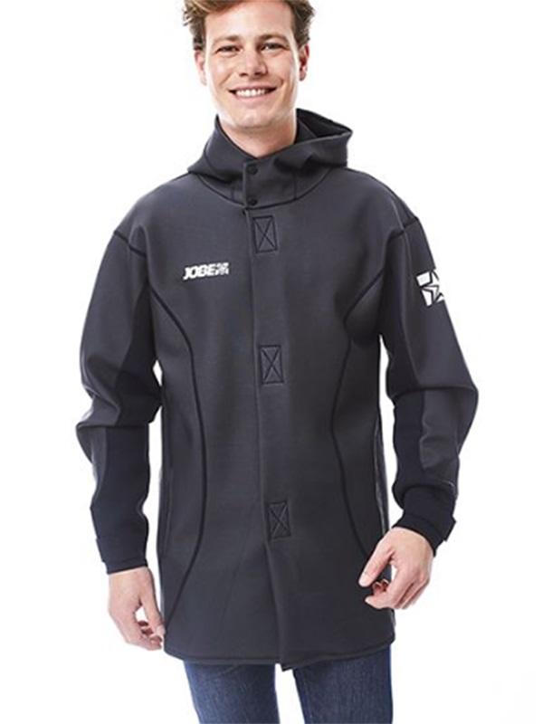 Jobe Neoprene Watersports Jacket Coat, L Grey Black 2021