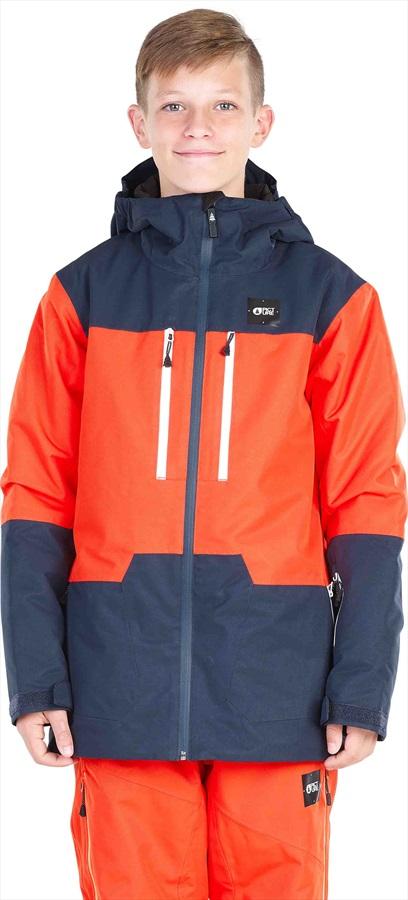 Picture Proden Boys Snowboard / Ski Jacket, L Orange