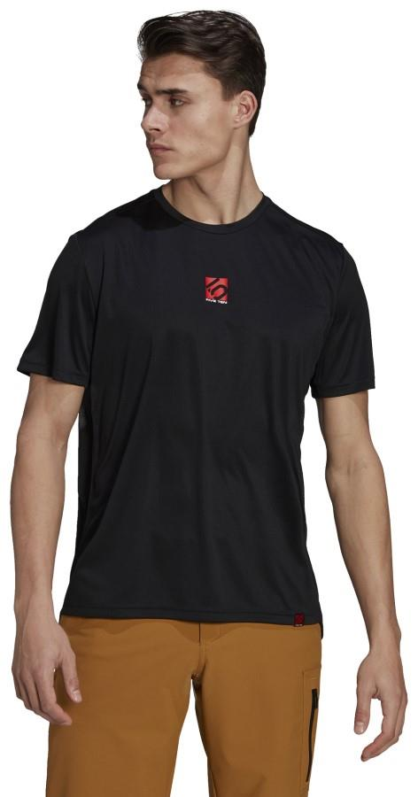 Adidas Five Ten Trail X Technical Short Sleeve T-shirt, L Black