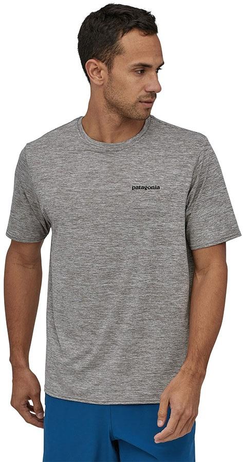 Patagonia Men's Capilene Cool Graphic T-Shirt, L Grey P-6