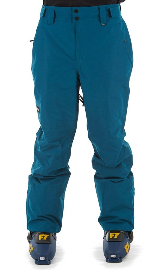 Planks Adult Unisex Feel Good Ski/Snowboard Pants, S Ocean Blue