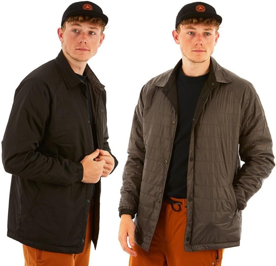 thirtytwo Explorer Reversible Insulated Snowboard Coach Jacket S Black