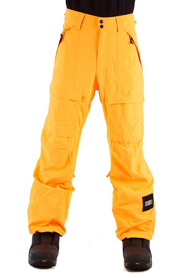 O'Neill Cargo Snowboard/Ski Pants, L Citrine Orange