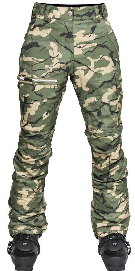 Wearcolour Slant Ski/Snowboard Pants, M Forest