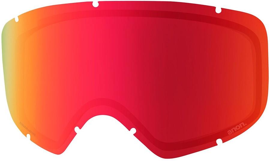 Anon Deringer Ski/Snowboard Goggles Spare Lens, Sonar Red