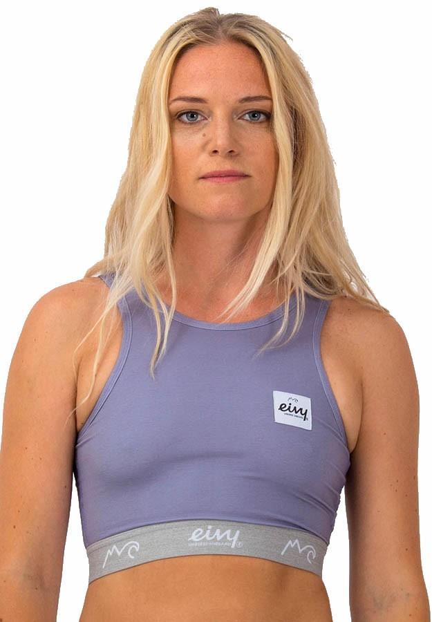 Eivy Cover Up Women's Sports Bra, XS Violet Melange