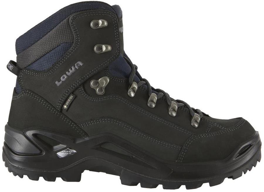 Lowa Renegade GTX Mid Wide Men's Hiking Boots, UK 9 Dark Grey