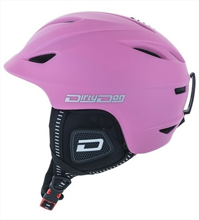 Dirty Dog Eclipse Snowboard/Ski Helmet XL Pastel Pink