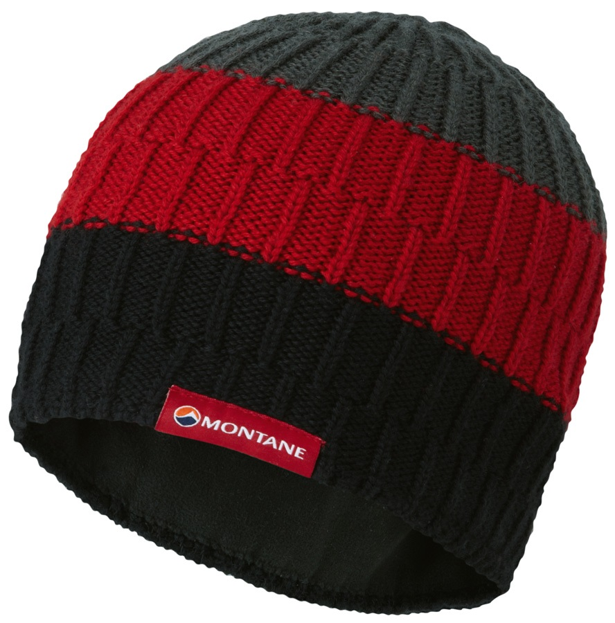 Montane Windjammer Halo Ski/Snowboard Beanie Hat, One Size Black
