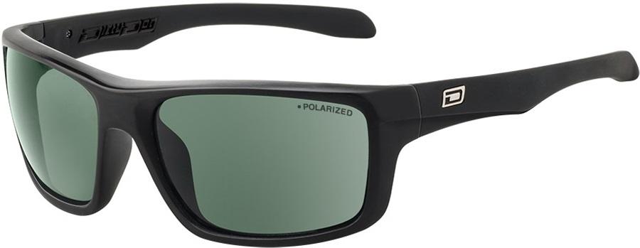 Dirty Dog Axle Green Polarized Sunglasses, L Black