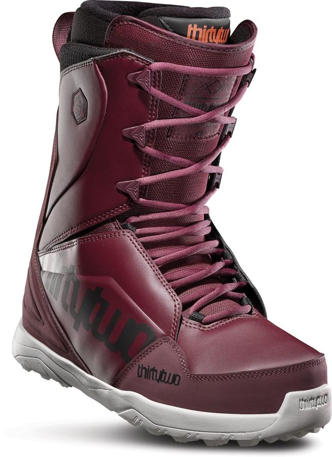 thirtytwo Lashed Men's Snowboard Boots, UK 12 Maroon/Black/White 2020