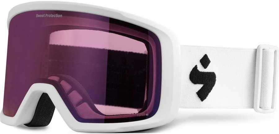 Sweet Protection Firewall Ski/Snowboard Goggles, O/S Satin White