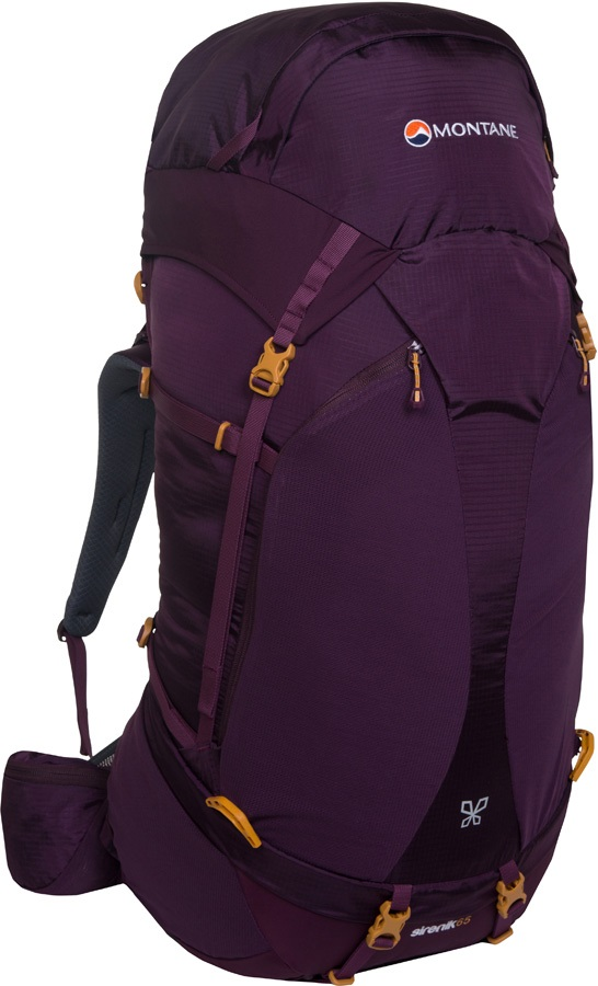 Montane Sirenik 65 Women's Trekking Backpack, 65L Saskatoon Berry