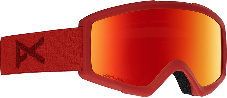 Anon Helix 2.0 Sonar Red Ski/Snowboard Goggles M Red