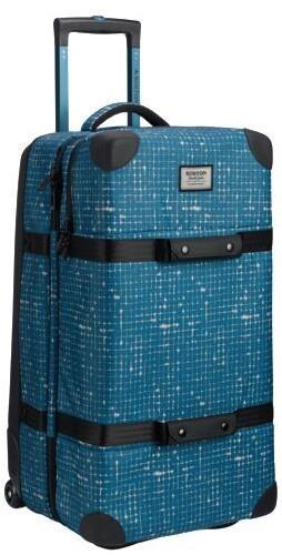 Burton Split Roller Wheelie Double Deck Luggage, 86L Blue Sapphire