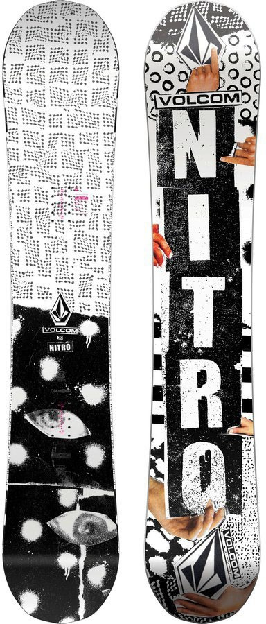 Nitro Beast Positive Camber Snowboard, 158cm 2020