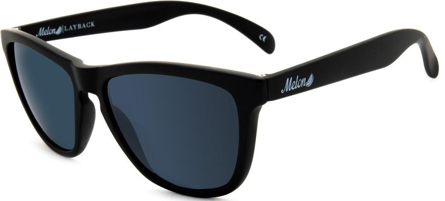 Melon Layback Gold Chrome Polarized Sunglasses, M 24K