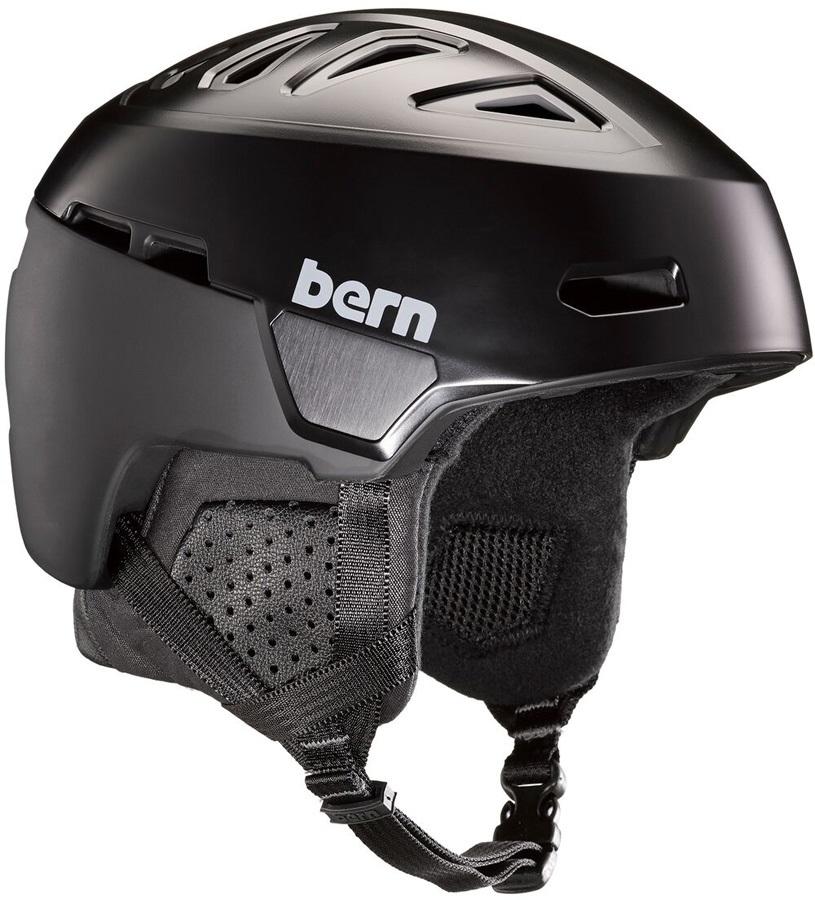 Bern Heist Ski/Snowboard Helmet, S Satin Black