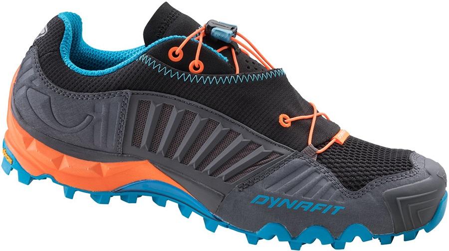 Dynafit Feline SL Men's Trail Running Shoes, 13 Magnet/Fluo Orange