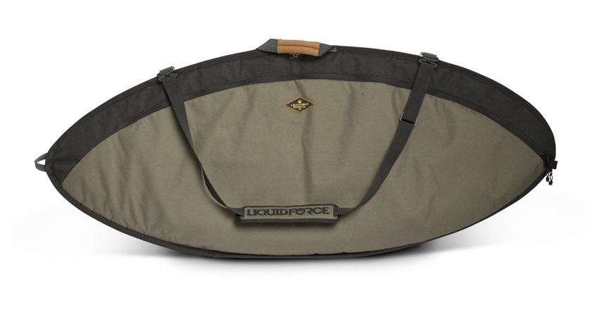 "Liquid Force Skim Day Tripper Wakesurf Bag, S 4'33"" Grey"