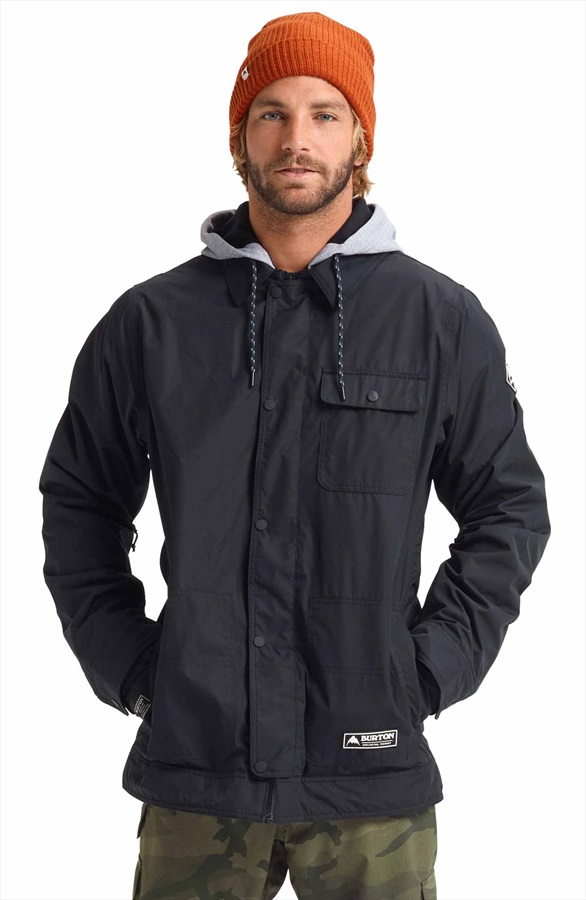 Burton Dunmore Snowboard/Ski Jacket, M True Black 2020