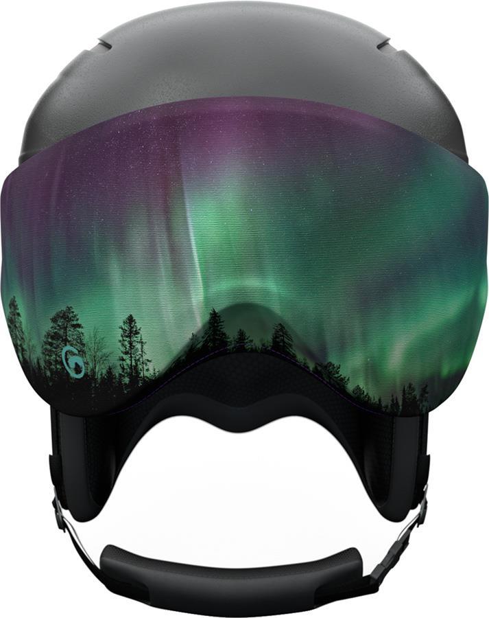 Gogglesoc Snowboard/Ski Visor Lens Cover, Aurora Visorsoc