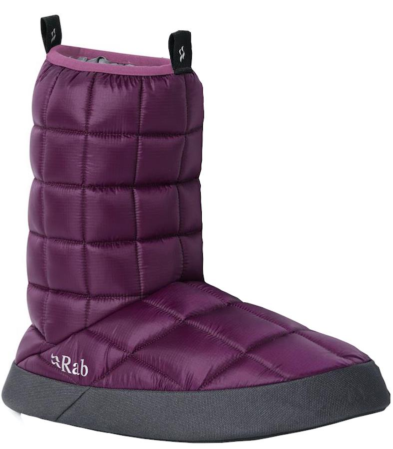 Rab Hut Boot Insulated Camping Bootie, UK 9-10 Berry