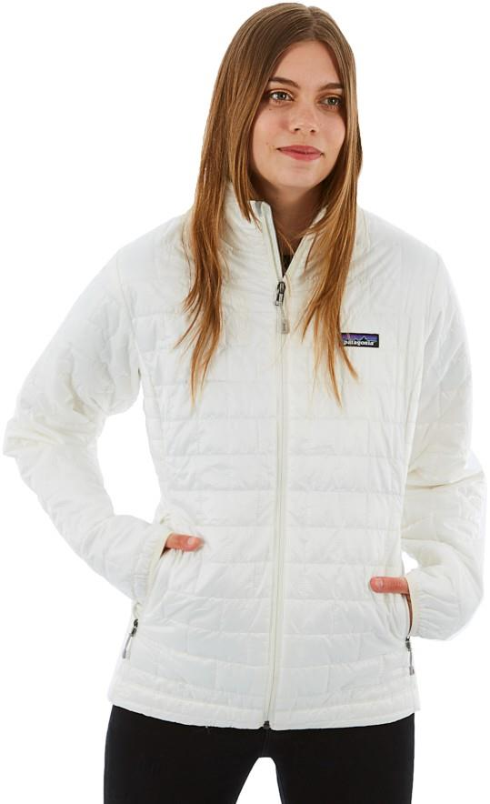 Patagonia Women's Nano Puff Insulated Jacket, UK 12 Birch White