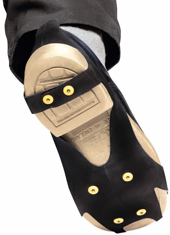 Petzl Spiky Plus Anti-slip Soles Snow & Ice Shoe Spikes, Size 3 Black