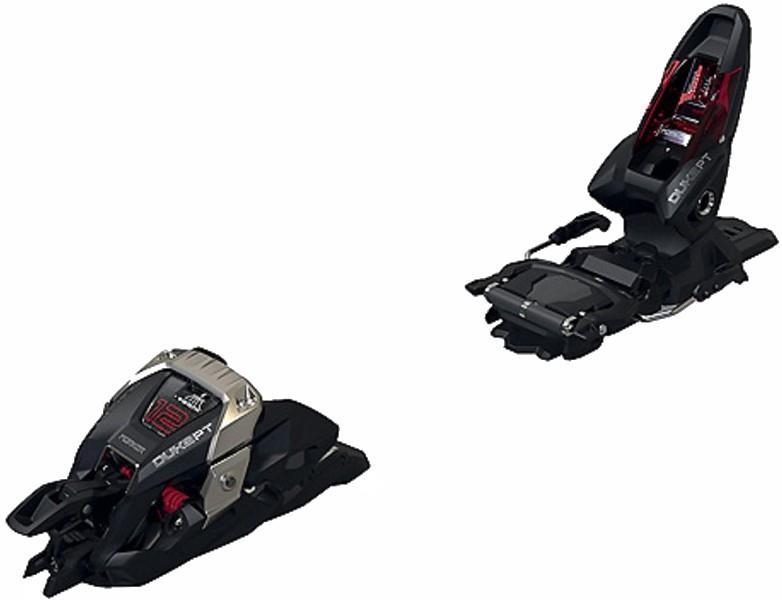 Marker Adult Unisex Duke Pt 12 Ski Bindings, 125mm Black/Red